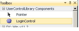 Login-Control -User Control For C# Winforms Applications